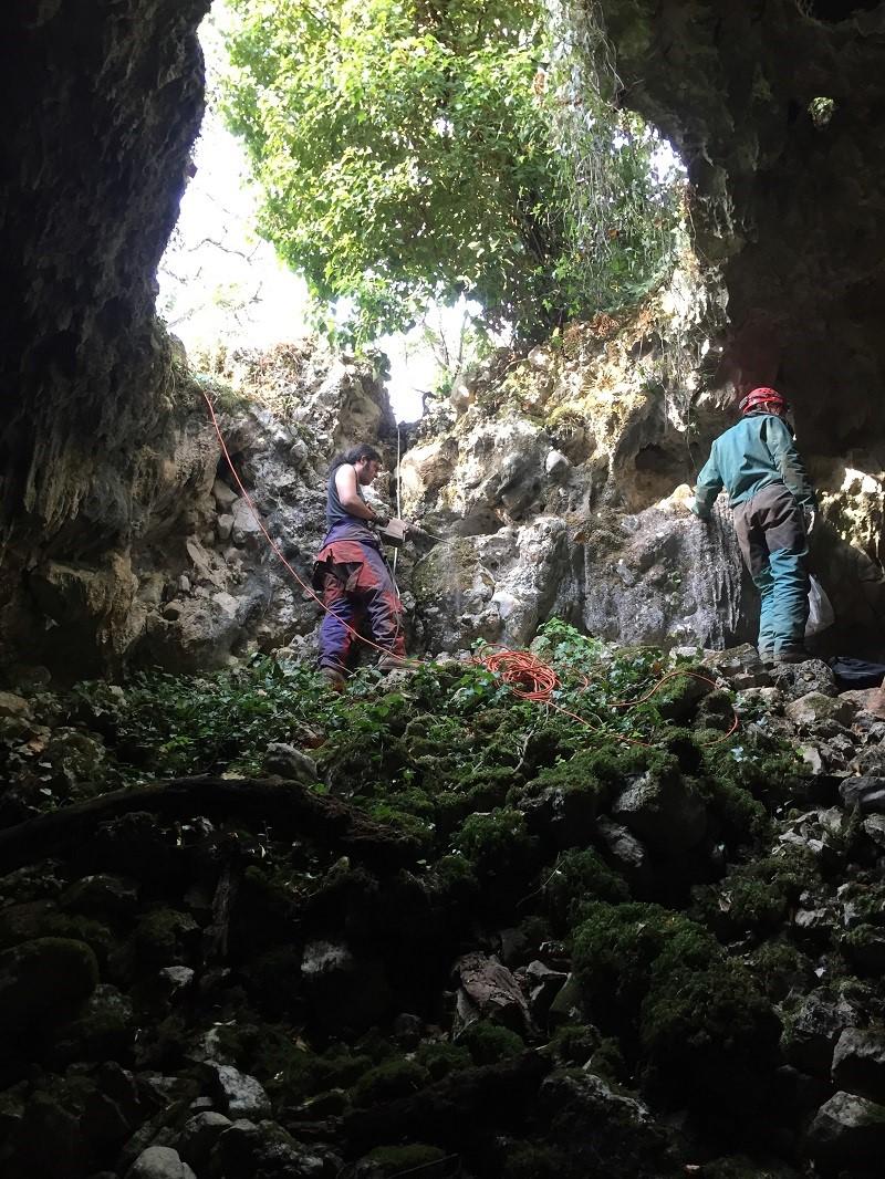 Ricerche Archeologiche presso Grotta La Sassa